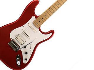 обои Красно - белая электрическая гитара фото
