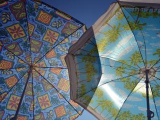 обои Два зонта большие фото