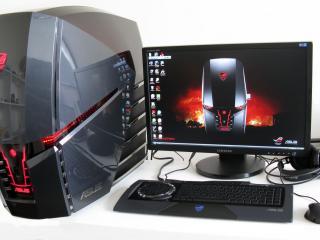 обои для рабочего стола: Мощный компьютер Asus