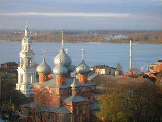 обои Купола Костромы фото