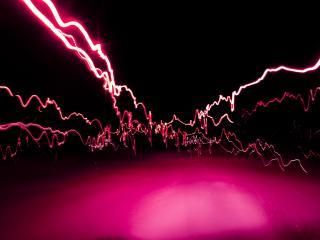 обои Абстракция линий розовых фото