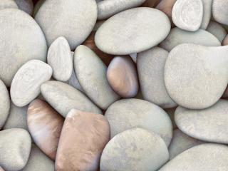 обои Отшлифованы камешки водой морской фото