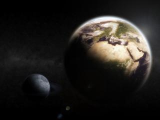 обои Планета земля и юпитер фото