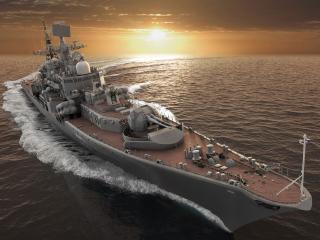 обои Эсминец военно морских сил обороны фото