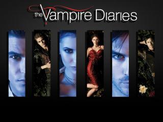 обои Лолготип сериала Дневники Вампира фото