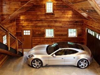 обои Уютный домик для авто фото