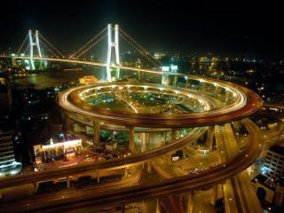 обои Объезд после моста фото