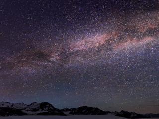 обои Звёздное небо и Млечный путь фото