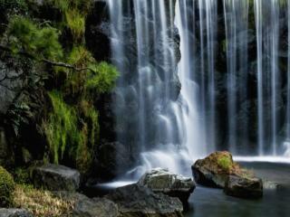обои Прозрачный водопад фото