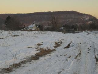 обои Ухабистая деревенская дорога фото
