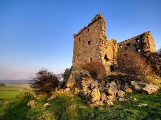 обои Руины на холме фото