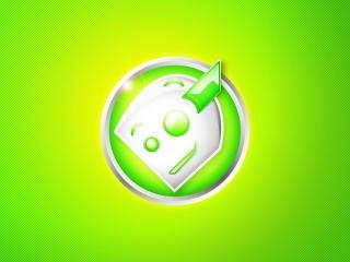 обои Логотип в виде кружки и блюдечка фото