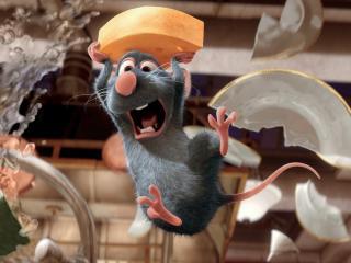 обои Мышонок украл сыр фото