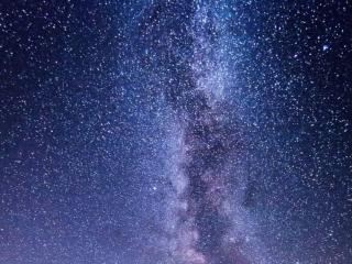 обои Звездная ночь -  Млечный путь фото