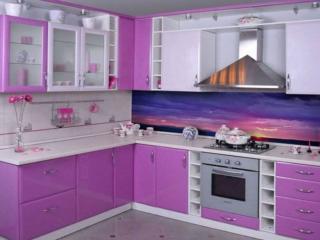 обои Интерьер кухни Сирень фото