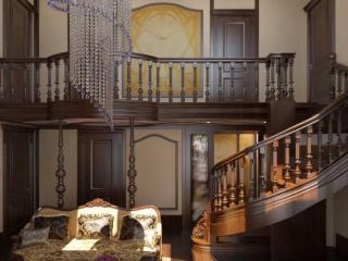 обои Лестница как украшение дома фото