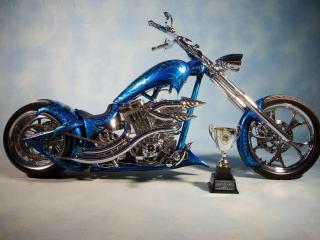 обои Кубок у мотоциклa фото