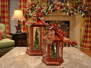 обои Фонарики к Рождеству фото