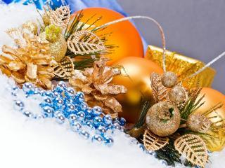 обои Рождественские украшения фото