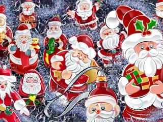 обои Собрание для Дедов Морозов фото