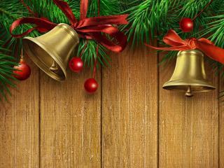 обои Рождественские колокольчики фото