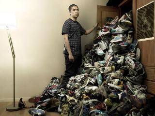 обои Любитель кросовок фото