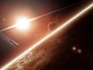 обои Свет космический фото