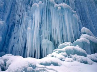 обои Зимняя вода фото