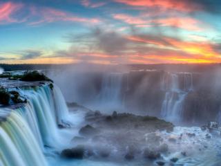 обои Территория водопадов фото