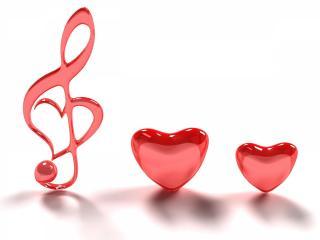 обои Любовная музыка фото