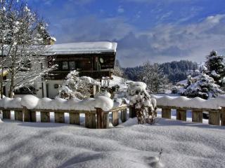 обои Пришла на деревенские просторы зима фото