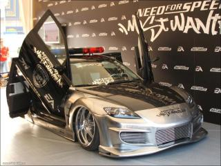 обои Mazda Rx-8 Police фото