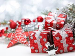 обои Бело - красный стиль украшений и подарков фото