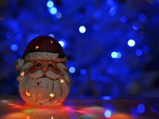 обои Игрушка Дед Мороз фото