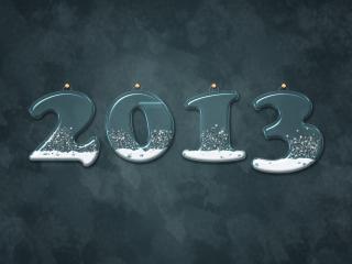 обои Свечи 2013 к Новому году фото