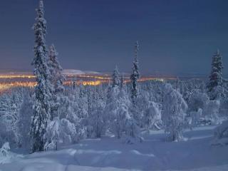 обои День в полярную ночь фото