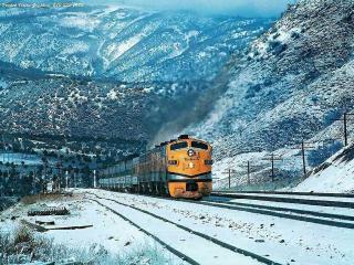 обои Северный поезд фото