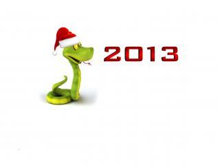 обои Новый год,   год змеи фото