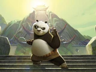 обои Панда Кунг-ФУ фото