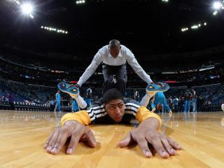 обои Тренировки баскетболистов фото
