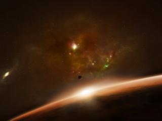 обои Космическая необозримость фото