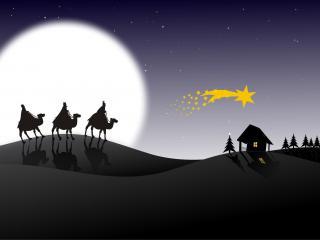 обои для рабочего стола: В ночь перед рождеством
