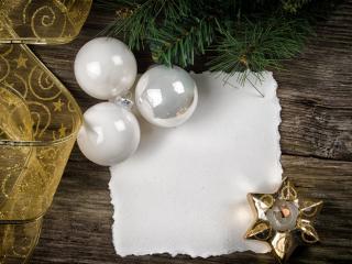 обои Бант и игрушки белые,   свеча фото