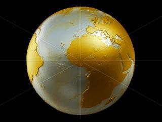 обои Земля на фоне черном фото