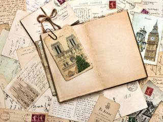 обои для рабочего стола: Старые письма и oткрытки
