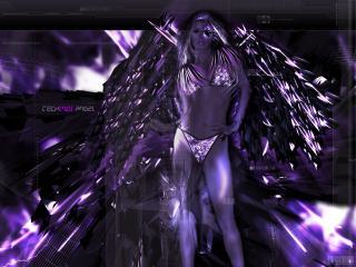 обои Techno Angel фото