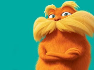обои Оранжевый Лоракс фото