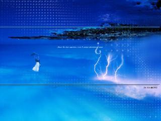 обои Было бы так грустно, если б дождь фонтаном вверх фото