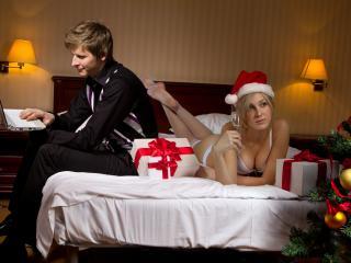 обои В праздничной постели фото