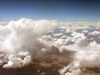 обои Белaя облачность фото